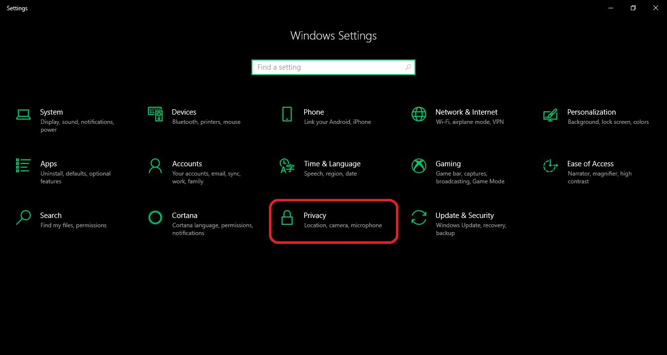 Tắt các ứng dụng nền Windows 10 bằng Command Prompt