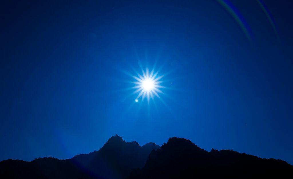 hiệu ứng sunstar
