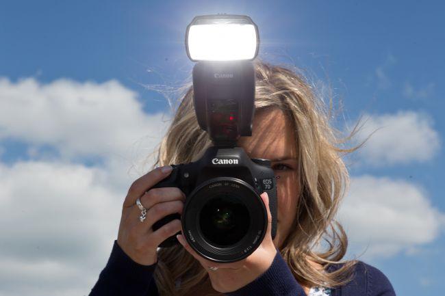 chú ý khi chụp ảnh với đèn Flash
