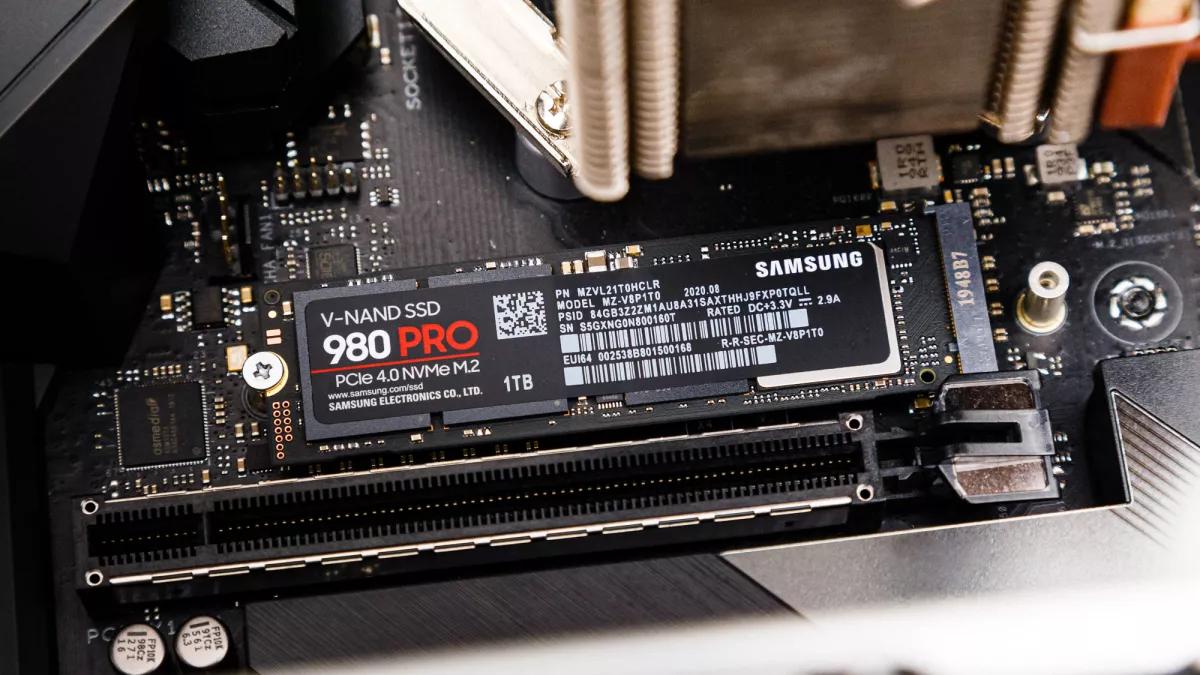 Samsung NVMe 980 PCIe 3.0